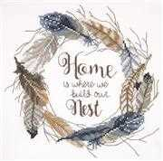 Build Our Nest - Janlynn Cross Stitch Kit