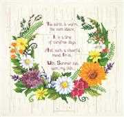 Summer Sentiments - Janlynn Cross Stitch Kit