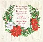 Janlynn Winter Sentiments Christmas Cross Stitch Kit