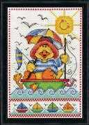 Sailboat Duck - Design Works Crafts Cross Stitch Kit