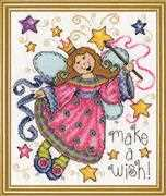 Design Works Crafts Make a Wish Cross Stitch Kit