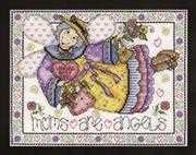Design Works Crafts Mum's Are Angels Cross Stitch Kit