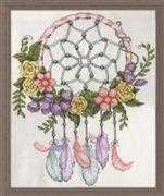 Pastel Dreamcatcher - Design Works Crafts Cross Stitch Kit