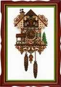 RIOLIS Cuckoo Clock Cross Stitch Kit