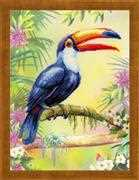 RIOLIS Toucan Cross Stitch Kit