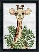 Giraffe - Design Works Crafts Cross Stitch Kit