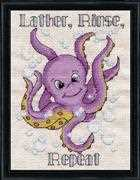Octopus - Design Works Crafts Cross Stitch Kit