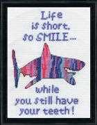Smile - Design Works Crafts Cross Stitch Kit