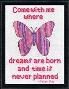 Design Works Crafts Dreams Butterfly Cross Stitch Kit