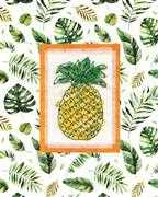 Design Works Crafts Pineapple Cross Stitch Kit