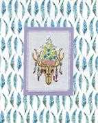 Southwestern Skull - Design Works Crafts Cross Stitch Kit