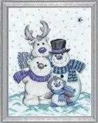 Design Works Crafts Snow Pals Cross Stitch Kit