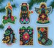 Fantasy Ornaments - Design Works Crafts Cross Stitch Kit