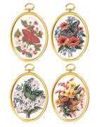 Butterfly Blossoms - Janlynn Embroidery Kit