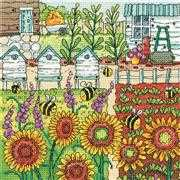 Making Honey - Aida - Heritage Cross Stitch Kit
