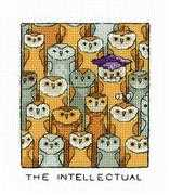 The Intellectual - Heritage Cross Stitch Kit