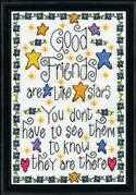 Design Works Crafts Good Friends Cross Stitch Kit