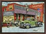Design Works Crafts Frontier Hardware Cross Stitch Kit