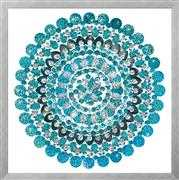 Zendazzle - Aqua Mandala - Design Works Crafts Embroidery Kit