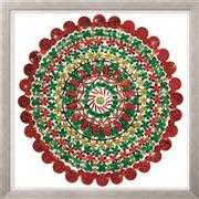 Design Works Crafts Zendazzle - Holiday Mandala Embroidery Kit