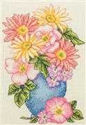 Anchor Floral Spray Cross Stitch Kit
