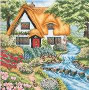 Cottage Stream - Anchor Cross Stitch Kit