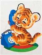 Grafitec Tiger Talk Tapestry Canvas