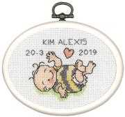 New Baby Mini 3 - Permin Cross Stitch Kit