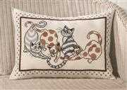 Cat Pillow - Permin Cross Stitch Kit