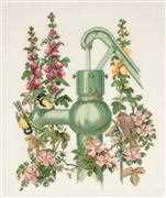 Water Post - Eva Rosenstand Cross Stitch Kit