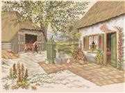 Eva Rosenstand Farm and Horse Cross Stitch Kit