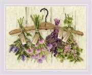 RIOLIS Herbs Cross Stitch Kit