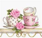 Stack of Teacups - Luca-S Cross Stitch Kit