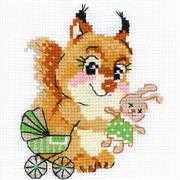 Playing House - RIOLIS Cross Stitch Kit