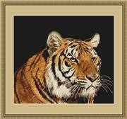 Luca-S Tiger - Petit Point Tapestry Kit