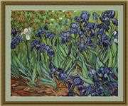 Luca-S Irises - Petit Point Tapestry Kit