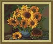Vase of Sunflowers - Petit Point - Luca-S Tapestry Kit
