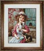 Luca-S Best of Friends - Petit Point Tapestry Kit