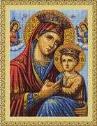 Luca-S Icon Mother and Son - Petit Point Tapestry Kit