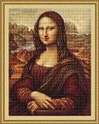 Luca-S Mona Lisa - Petit Point Tapestry Kit