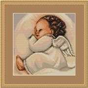 Infant Sleeping - Petit Point - Luca-S Tapestry Kit
