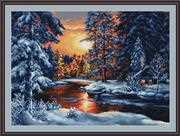 Winter Landscape - Petit Point - Luca-S Tapestry Kit