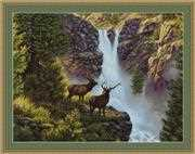 Waterfall - Petit Point - Luca-S Tapestry Kit
