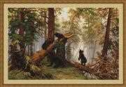 Luca-S Morning in a Pine Forest - Petit Point Tapestry Kit