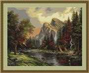 Mountain Picnic - Petit Point - Luca-S Tapestry Kit