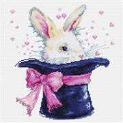 Luca-S Magic Rabbit Cross Stitch Kit