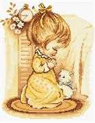 Girl Praying - Luca-S Cross Stitch Kit