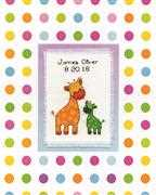 Baby Sampler - Design Works Crafts Cross Stitch Kit