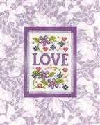 Love - Design Works Crafts Cross Stitch Kit