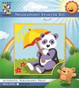 Sunbathing Panda - Grafitec Tapestry Kit